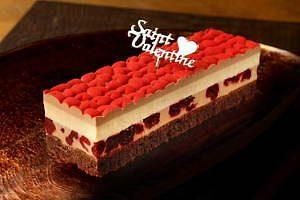クリオロバレンタイン限定チョコレートケーキ