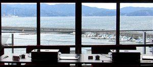 わかうら食堂23・窓からの眺め