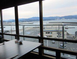 わかうら食堂26・席からの眺め