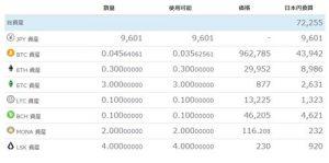 仮想通貨取引・進捗結果2019年5月-3