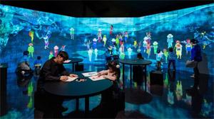 日本妖怪博物館(三次もののけミュージアム)チームラボ
