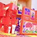 ロクシタンクリスマスコフレ・アドベントカレンダー0