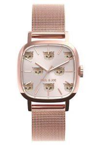 ポールアンドジョー限定腕時計スクエアヌネット01