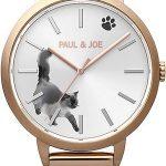 ポール & ジョー インク キャット腕時計の発売日程と通販先。